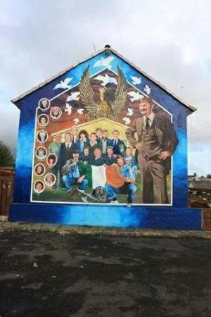 The things to do in belfast 2016 tripadvisor for Belfast mural tours