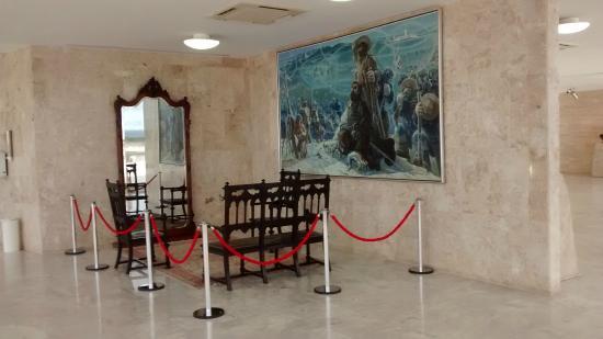 Museu do Supremo Tribunal Federal: Peças que vieram do STF do Rio de Janeiro.