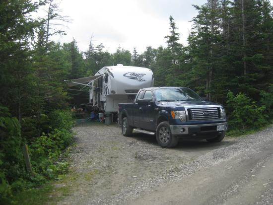 Gros Morne/Norris Point KOA: Private L shaped sites for tents and RV!