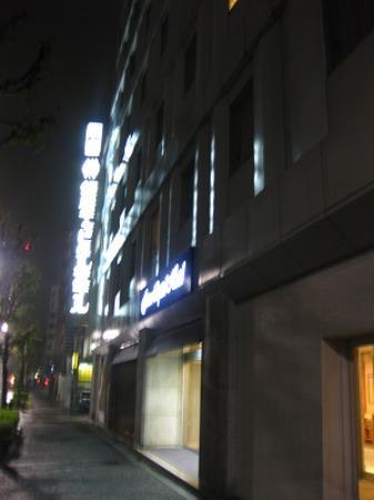 Ginza Capital Hotel Main: 暴風雨の夜