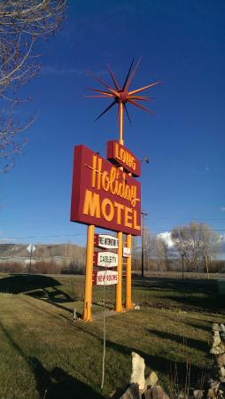 Long Holiday Motel: Vintage Sign at Long Holiday