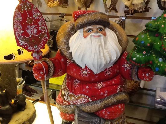 Santas foto di nancy tut s christmas shop dillsboro tripadvisor