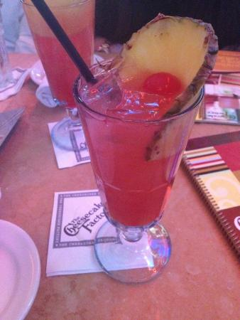 The Cheesecake Factory: Typhoon Punch :) yummy