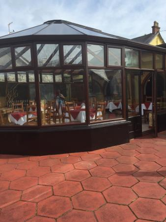 The Glens Hotel: Conservatory for lunch