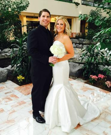 Embassy Suites By Hilton Palm Beach Gardens PGA Boulevard: April 2015  Wedding