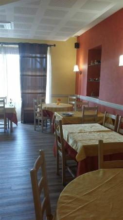 Saint-Just-en-Chevalet, Francia: Salle à manger