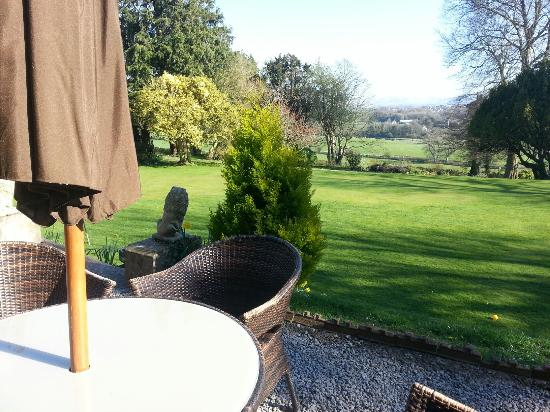 Broughton Craggs Hotel Restaurant: view fron bar terrace