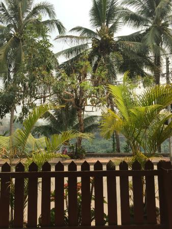 Villa Somphong: The view from our terrace