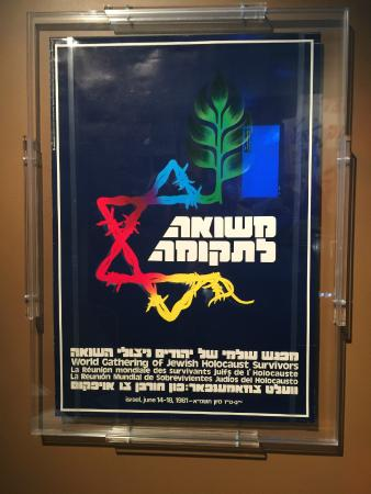 Illinois Holocaust Museum & Education Center: Poster from an exhibit.