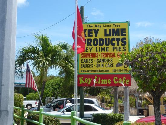 The Key Lime Cafe: Signage