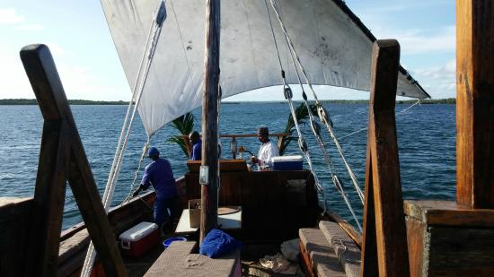 Mida Dhow: There's Something Quite Magical About Being Pampered Aboard a Dhow.