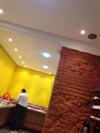 Ramma Cozinha Natural: Ambiente climatizado