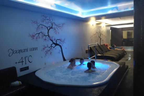 Lavendel Spa Hotel: Bubbelpoolen