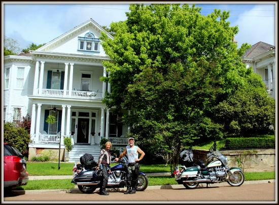 Bisland House Bed and Breakfast: Motorcycle guest