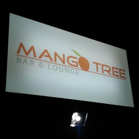 Mango Tree Bar & Lounge: Signage