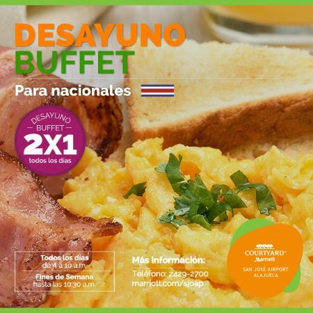 Alajuela, Costa Rica: Desayuno Buffet