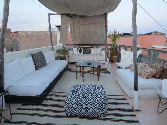 Riad Le J: terrazza riad