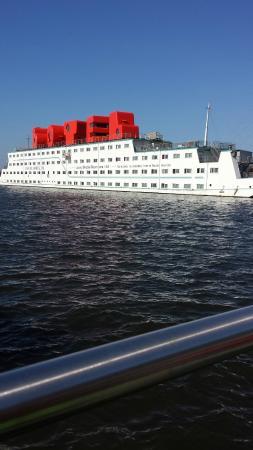 Amstel Botel: vista dal molo