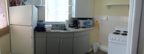 Gulf Beach Inn: Kitchen