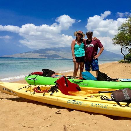 Makena Paddle Tours: Kelly took this picture and emailed it to us!