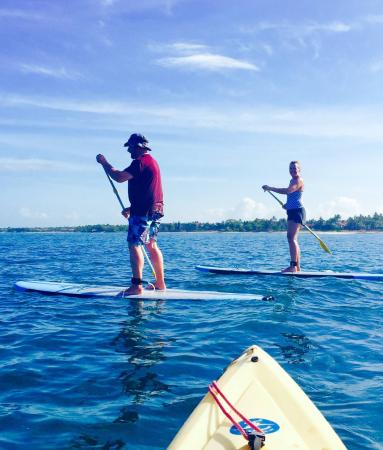 Makena Paddle Tours: First time paddleboarding- it was a blast!