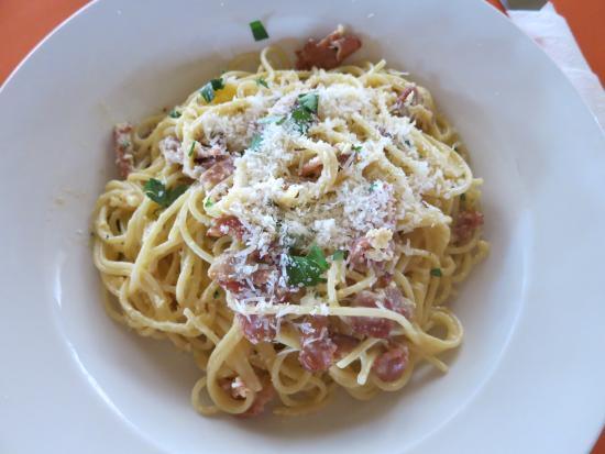 Olgau0027s   The Italian Corner: Spaghetti Carbonara