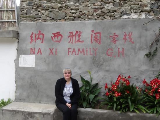 Naxi Family Guesthouse: Outside the guest house entrance