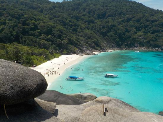 Similan Islands: vue des hauteurs 1