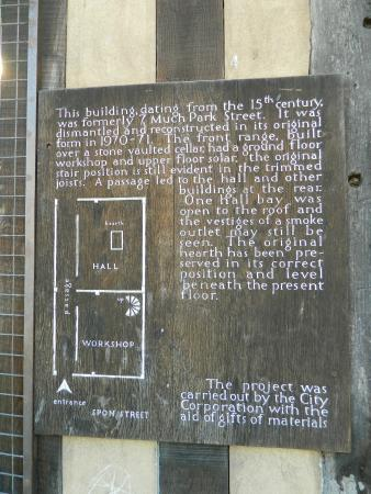 Coventry, UK: Information board