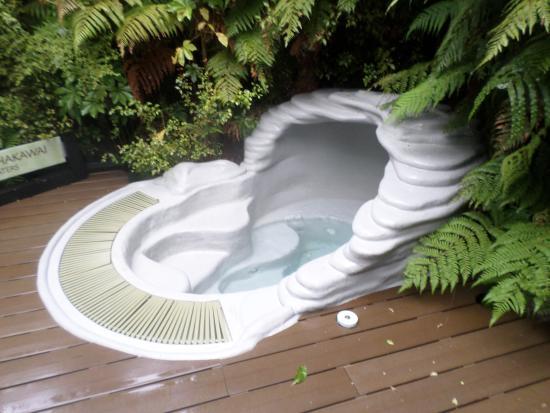 Glacier Hot Pools: Private hot tub #3