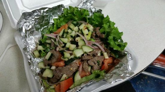Thai Spices: Beef Salad - To Go