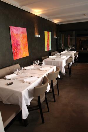 Restaurant de la Gare Chez Sandro: Notre salle à manger