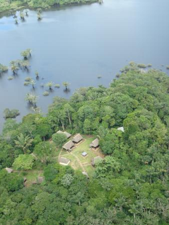 Air View Cuyabeno Lodge