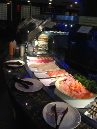 Buffet Round Table.Buffet Roundtable With Fruits Desserts Sushi Etc Picture Of