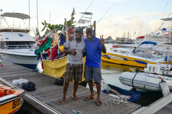 Israel King Water Taxi  Private Tours: Glenn & Jerome