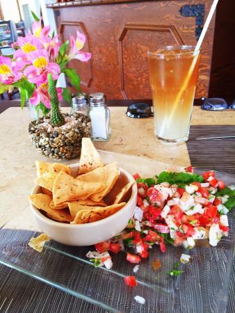 Cynthia Fresh! Restaurant and Organic Market : Fresh fish ceviche - heavenly!