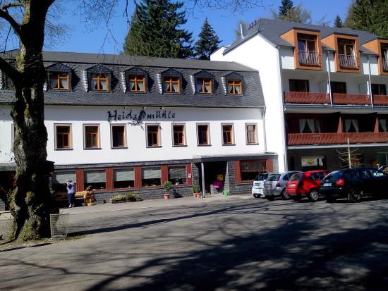 Heidsmühle: Front