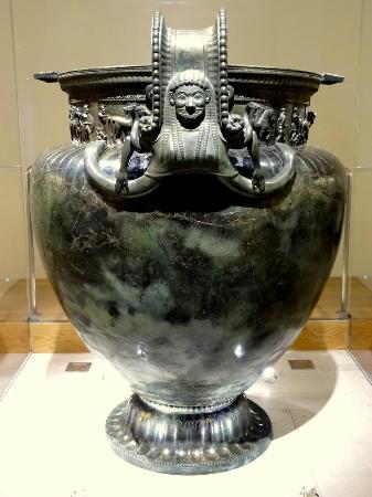 Le Vase De La Dame De Vix Picture Of Tresor De Vix Musee Du