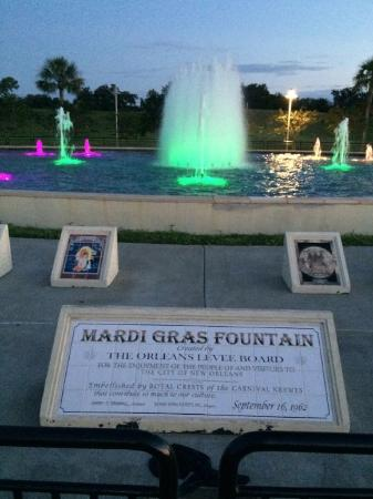 Mardi Gras Fountains