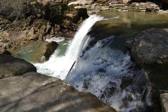 Ansted, Virginia Barat: Mill Creek Falls, a 20' drop.  Good luck getting to the bottom for a good shot.