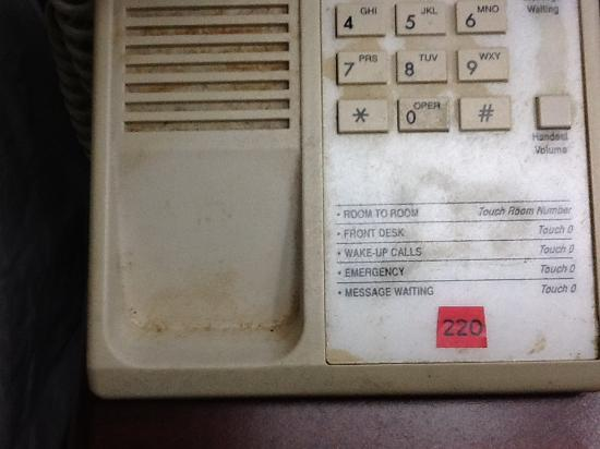Super 8 Kennett: This is sticky phone