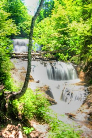 The sable Falls on slow shutter