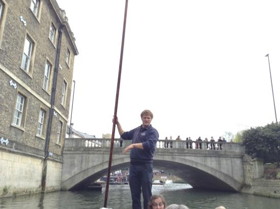 Scudamore's Punting Company: Punting on the River  Cam