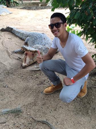 Stato di Melaka, Malesia: cool mr. Croc! I love it!