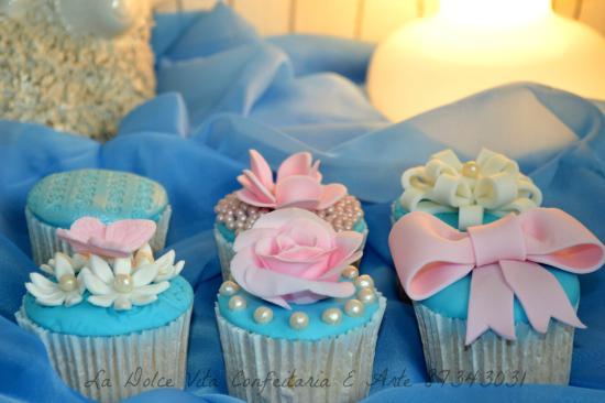 La Dolce Vita Confeitaria E Arte: Cup Cake casamento