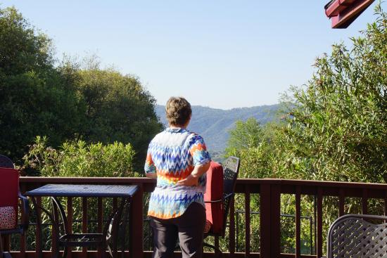 Ahwahnee, Californie : The view from ONE of the decks!