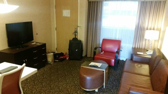 Embassy Suites By Hilton San Diego Bay Downtown: Living Room With Pullout  Sofa Bed,