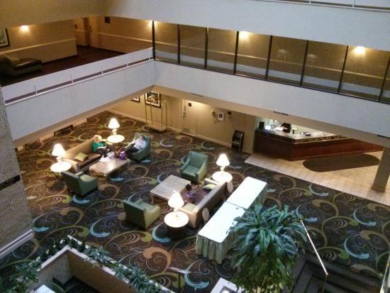 overlooking the dining area from atrium picture of radisson hotel rh tripadvisor co za
