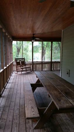Stephen Foster Folk Culture Center State Park: patio