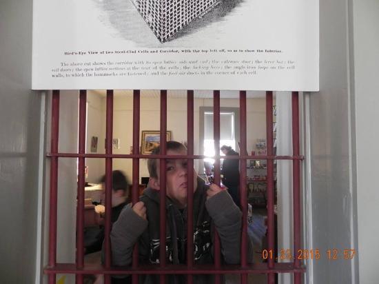 "McFarland State Historic Park : The ""jail"""